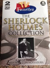 Sherlock Holmes Collection DVD Set - New in Package in Sugar Grove, Illinois