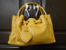 Women Yellow Roberta Gandolfi Hand Purse in The Woodlands, Texas