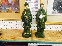 Vintage Statues you can see at smileys inside Mall in Bellaire, Texas