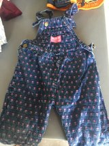 OshKosh  size 2 t girls overalls in Camp Lejeune, North Carolina