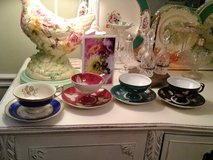 4 pretty teacups in Westmont, Illinois