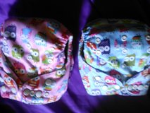 One Size Cloth Diapers with inserts in Alamogordo, New Mexico