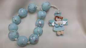 Blue Rosary Favor in Bolingbrook, Illinois