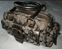 """COACH"" SOHO-LIMITED EDITION-PYTHON SNAKE-SIGNATURE SATCHEL HANDBAG in Fairfield, California"