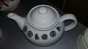 PORCELAIN SOUTHWESTERN TEAPOT in Vacaville, California