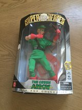 The green arrow action figure in El Paso, Texas