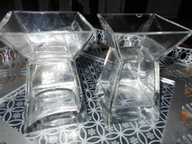 Very Solid Glass Candle Holders in Kingwood, Texas