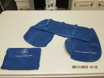 New Inflatable Travel Neck Pillow w/Travelling Case in Houston, Texas