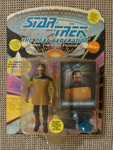 Lt Commander Geordi La Forge in Dress Uniform – Star Trek: TNG Playmates Action Figure in Stuttgart, GE