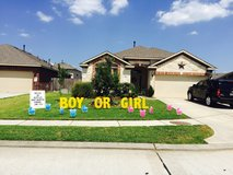 Personalized Yard Cards in Spring, Texas
