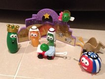 Veggie Tales Nativity Christmas Playset in Okinawa, Japan
