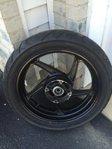 Honda cbr250 rear wheel and tire REDUCED FINAL in Morris, Illinois