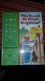 Who Named My Street Magnolia Book in Fort Campbell, Kentucky