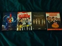 Various DVDs in Shorewood, Illinois
