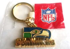 "*** SEATTLE SEAHAWKS ""Old School Logo"" Key Chain *** (NEW) in Fort Lewis, Washington"