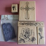 6 Wedding Rubber Stamps Code 66 in Lakenheath, UK