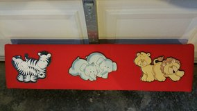 Wood valance for a nursery or child's room in Pleasant View, Tennessee