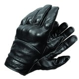 Motorcycle gloves Olympia hard knuckles 450 leather gloves black in San Ysidro, California