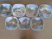 old England plates with picture in Ramstein, Germany