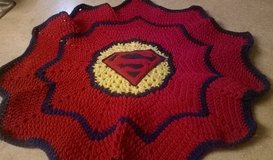 Crochet Handmade Superman Blanket in Tacoma, Washington