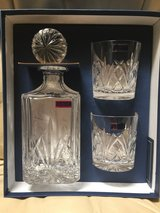 Waterford Marquis Decanter w/2 Glasses in Alamogordo, New Mexico