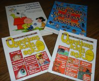 4 Questions & Answers Kids Ask Books Big Book of Lot Charlie Brown in Kingwood, Texas