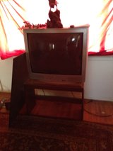 36 inch TV with stand in Alamogordo, New Mexico