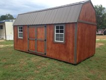 10x20 Side Lofted Barn in DeRidder, Louisiana