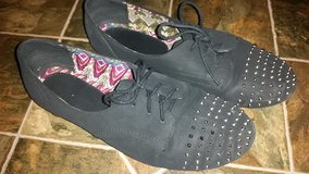 Midnight Black / Oxford Ladies Shoes in Fort Campbell, Kentucky