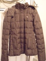 ***Brown Abercrombie Kids coat***SZ LARGE or Adult Small in Katy, Texas