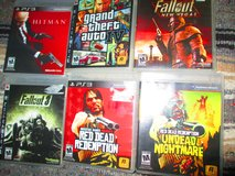 PS 3 Games GTA Fallout Red Dead Rated M in Fort Campbell, Kentucky