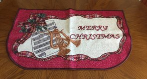 Pink Merry Christmas Rug in Fort Knox, Kentucky