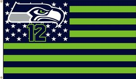SEAHAWKS 3'x5' 12th Man Flag Banner *** 8 Different Styles (NEW) *** $20 & up in Fort Lewis, Washington