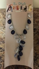 Beaded Necklace Blk/Clear in Elizabethtown, Kentucky