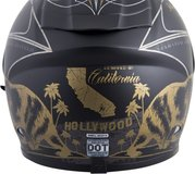 NEW Motorcycle helmet Scorpion full face Snell DOT race black matte gold scooter in San Ysidro, California