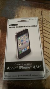 Fitted screen protector iPhone 4/4s in Fort Leonard Wood, Missouri