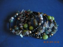 Indian Agate Coil Bracelet in Barstow, California