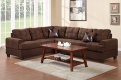 CHOCOLATE 2PC SECTIONAL FREE DELIVERY in Huntington Beach, California
