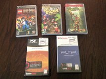 PSP games (lot of 5) in Perry, Georgia