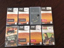 PSP video games (lot of 8) in Warner Robins, Georgia