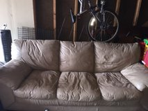 couch with ottoman in Naperville, Illinois
