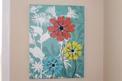 Flower Canvas in Fort Campbell, Kentucky