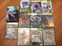 X box 360 system and 11 games in Oceanside, California