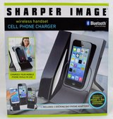 Sharper Image Wireless Handset And Cell Phone Charger in Aurora, Illinois