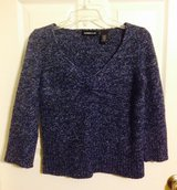 Express blue 3/4 sleeve sweater, sz M in Fort Campbell, Kentucky