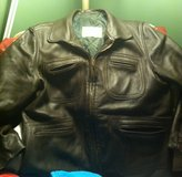 Men's leather jacket in Glendale Heights, Illinois