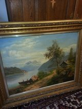rare landscape painting in Ramstein, Germany