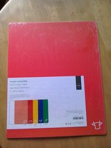 Set of 5 colour coded cutting mats for food preparation in Lakenheath, UK