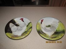 Pair Of Beautifully Different Rooster Bowls in Houston, Texas