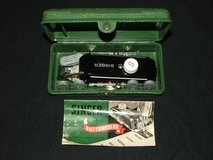 Vintage Singer Buttonholer Attachment 160506 in Case with Instructions in Westmont, Illinois